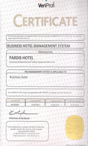certificate hotel2