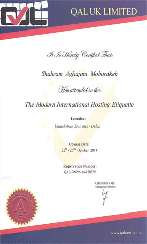 certificate hotel5