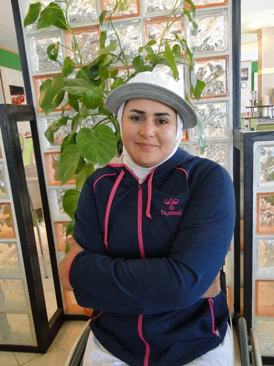 قهرمان المپیک تیر اندازی با کمان معلولان