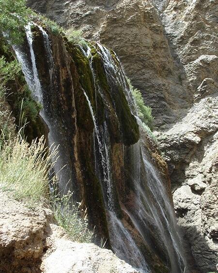 آبشار-پونه-زار-فریدونشهر-اصفهان