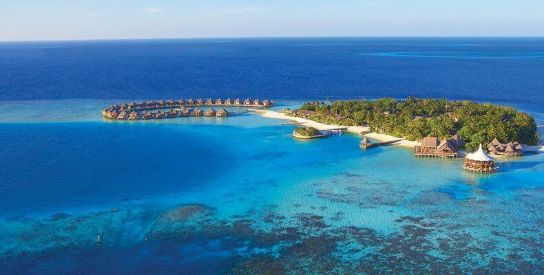 Baros Maldives Resort and Spa Ariel View